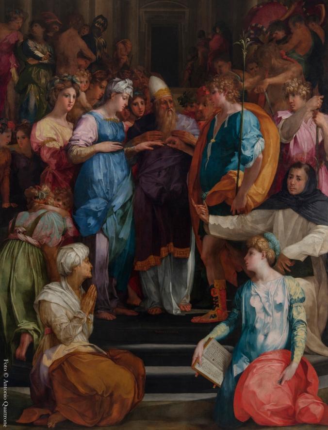 Sposalizio della Vergine_Rosso Fiorentino