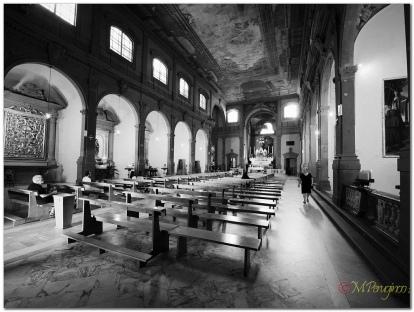 Navata della Collegiata di Sant'Andrea a Empoli - Foto di Marcantonio Perugino