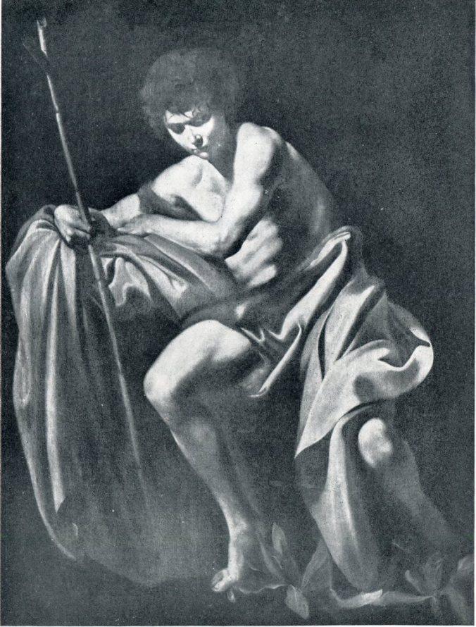 Caravaggio, San Giovanni Battista, Napoli, Museo Nazionale