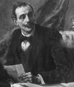 Mario Cini, ritratto di Odoardo Hillyer Giglioli