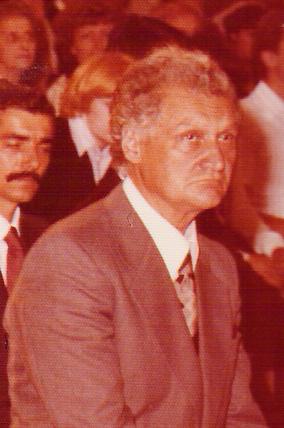Ugo Procacci in una foto di Cecilia Frosinini del 1978