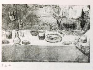 figura 4) Giotto e Bottega, Banchetto di Erode. Firenze Museo del Bargello