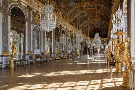 Versailles, la Galleria degli Specchi