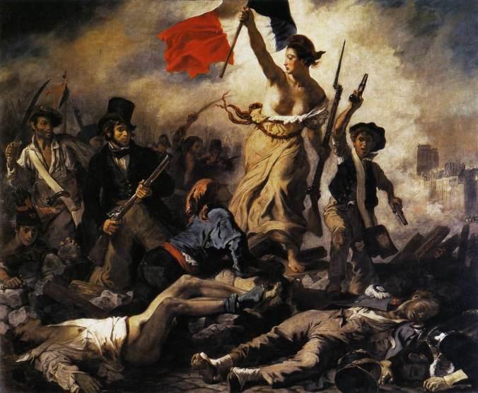 Delacroix, la Libertà che guida il Popolo