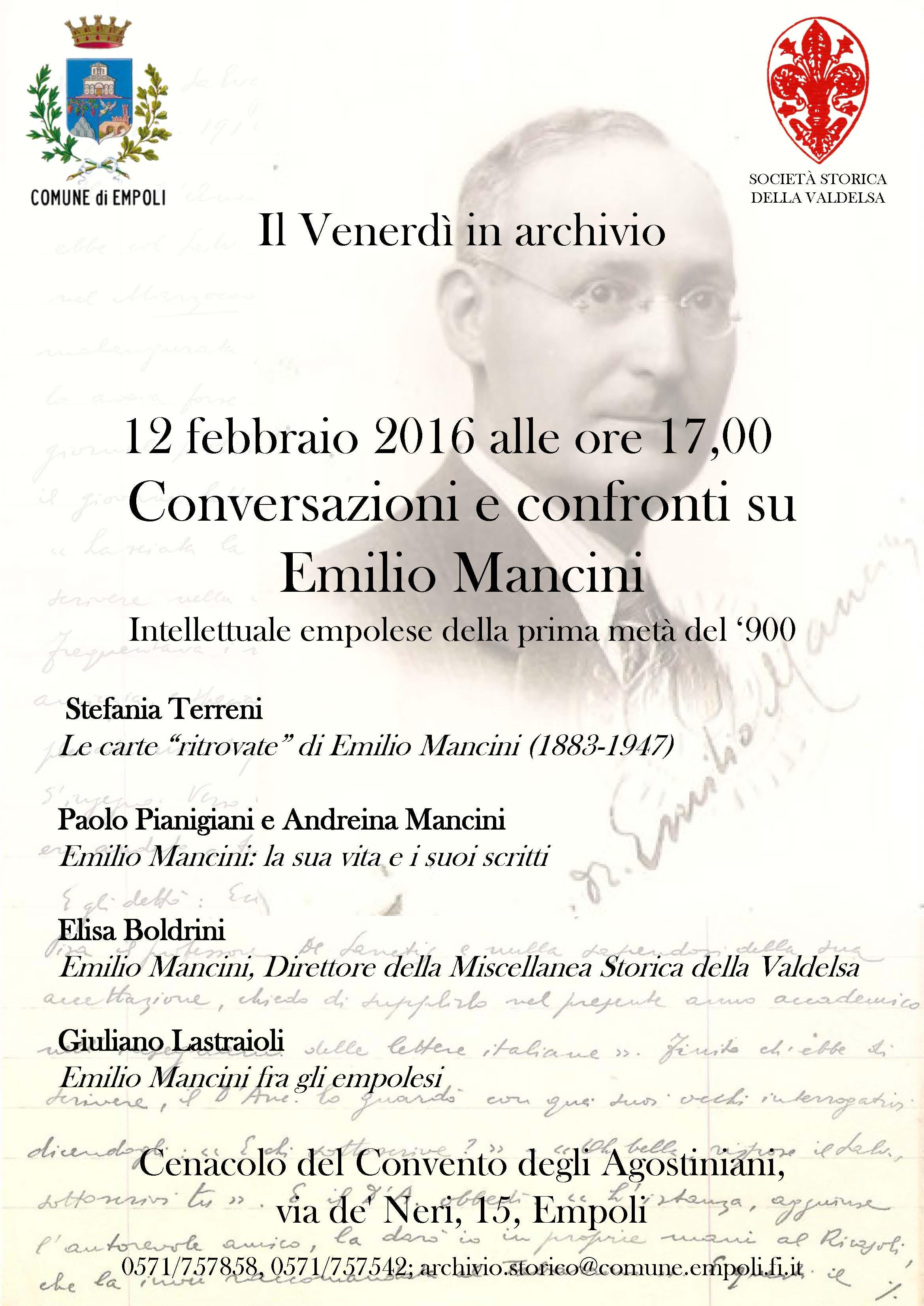 locandina Mancini
