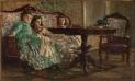 Le sorelle Laskaraki. 1869. Olio su tavola.