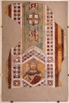 Fig.2b, Ambrogio Lorenzetti, Re Salomone, affresco distaccato e applicato su supporto di vetroresina, 133 x 93 cm, Siena, Museo Diocesano di San Bernardino foto © Archivio Arcidiocesi di Siena - Colle di Val d'Elsa - Montalcino