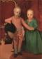 Anton Raphael Mengs (Ústí nad Labem 1728 – Roma 1779) Doppio ritratto degli arciduchi Ferdinando (6 maggio 1769-1824)e Maria Anna (21 aprile 1770-1809) di Asburgo Lorena 1770-1771 olio su tela, Firenze, Gallerie degli Uffizi, Galleria Palatina