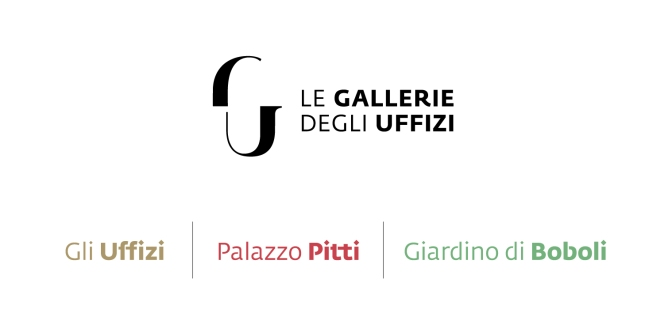 Gallerie Uffiizi all logos