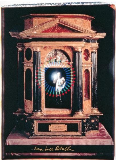 Perché il Sol ne riluca, 1991, polaroid, 60x50 cm