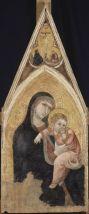 . Madonna col Bambino 1337 circa Tempera e oro su tavola, 122,5 x 54,4 cm Parigi, Musée du Louvre, Département des Peintures