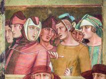 23. Professione pubblica di San Ludovico di Tolosa (particolare) 1334-1340 Affresco staccato Siena, Basilica di San Francesco