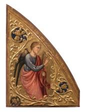 Fig. 1 Mariotto di Nardo (Firenze, 1365 circa – 1424 circa) Angelo annunziante Tempere su tavola, cm 40,3 x29,4 Galleria dell'Accademia di Firenze