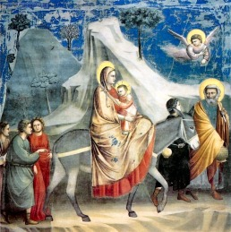 Giotto-Cappella-degli-Scrovegni-Fuga-in-Egitto