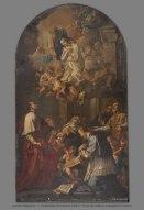 Antonio Puglieschi, L'Immacolata Concezione e Santi. Prima del Restauro