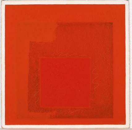 5) Josef Albers, Homage to the Square, 1969, olio su masonite 2018 The Josef and Anni Albers Foundation Sarà possible toccare l'opera