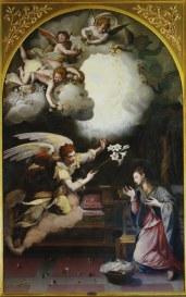 Allori A., Annunciazione, 1603, olio su tela, 162x103,5 Inv. Castello n. 494 e Inv. dep. n. 131 Restaurato nel 2003_480x768