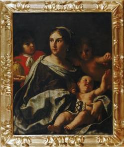Fig. 6 Elisabetta Sirani(Bologna, 1638-1665) Anna Maria Ranuzzi ritratta come la Carità Olio su tela 1665 Bologna, Collezioni d'Arte e di Storia della Fondazione Cassa di Risparmio in Bologna