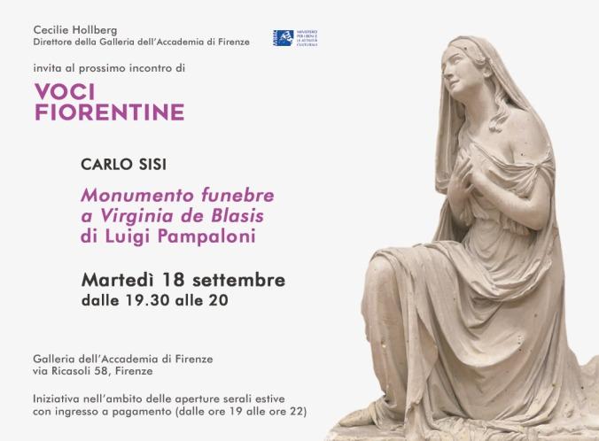 Voci Fiorentine - invito 18 settembre 2018 - Carlo Sisi - 1